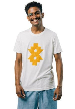 NDEBELE - T-shirt med print - white