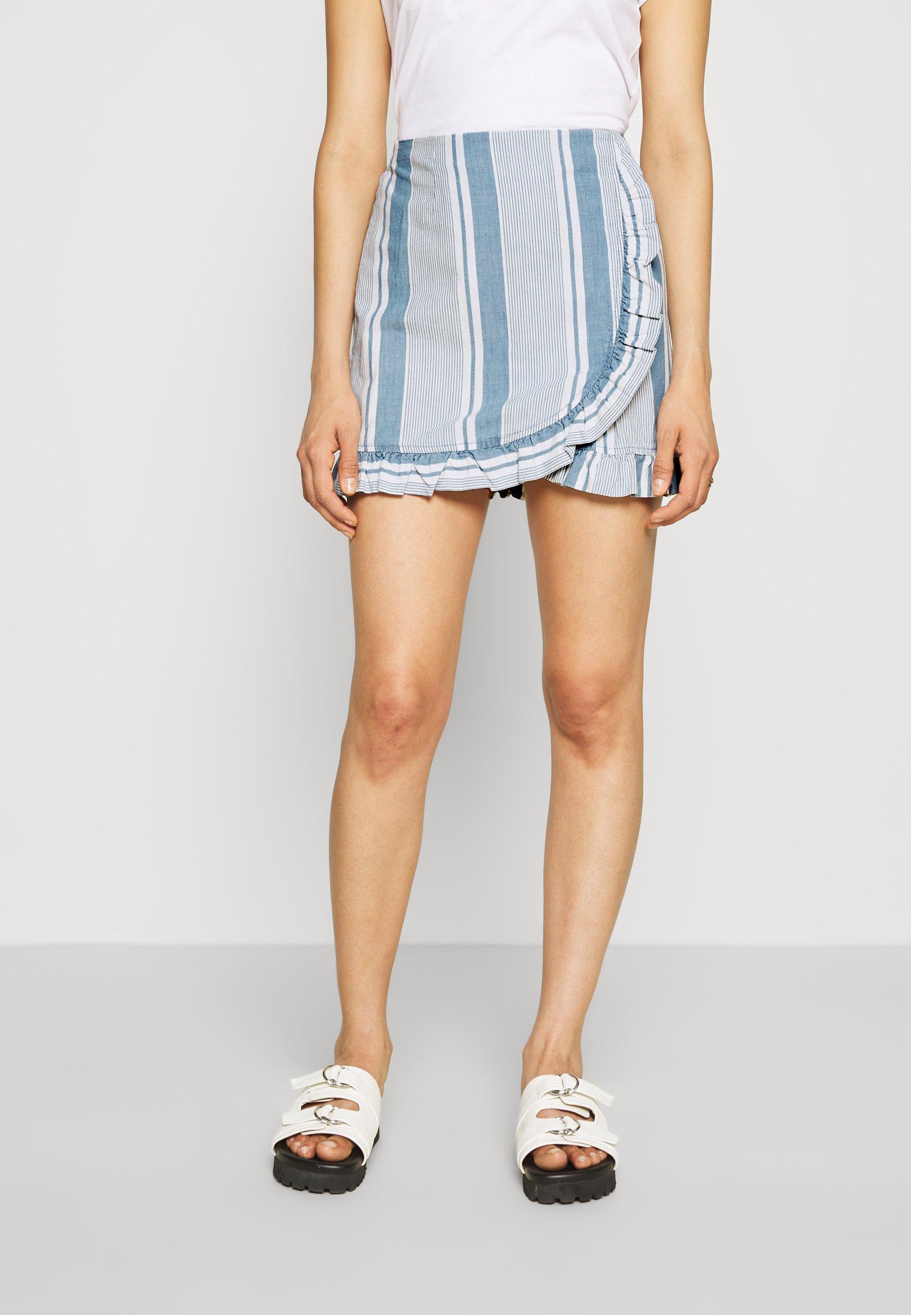 Women VMAKELA FLOUNCE - Mini skirt