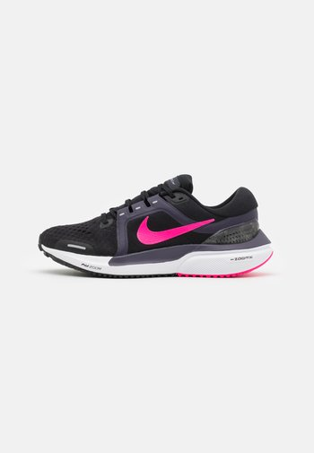 AIR ZOOM VOMERO 16 - Neutral running shoes - black/hyper pink/cave purple/light smoke grey/white/lilac