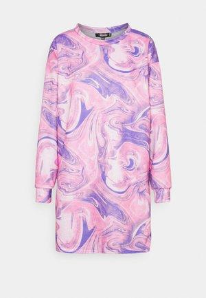 MARBLE DRESS - Denní šaty - lilac
