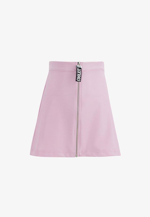 A-linjekjol - pink