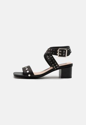 ROMY STUDS - Sandals - black