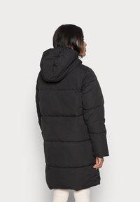 VILA PETITE - VITRUST  LONG JACKET - Winter coat - black - 2