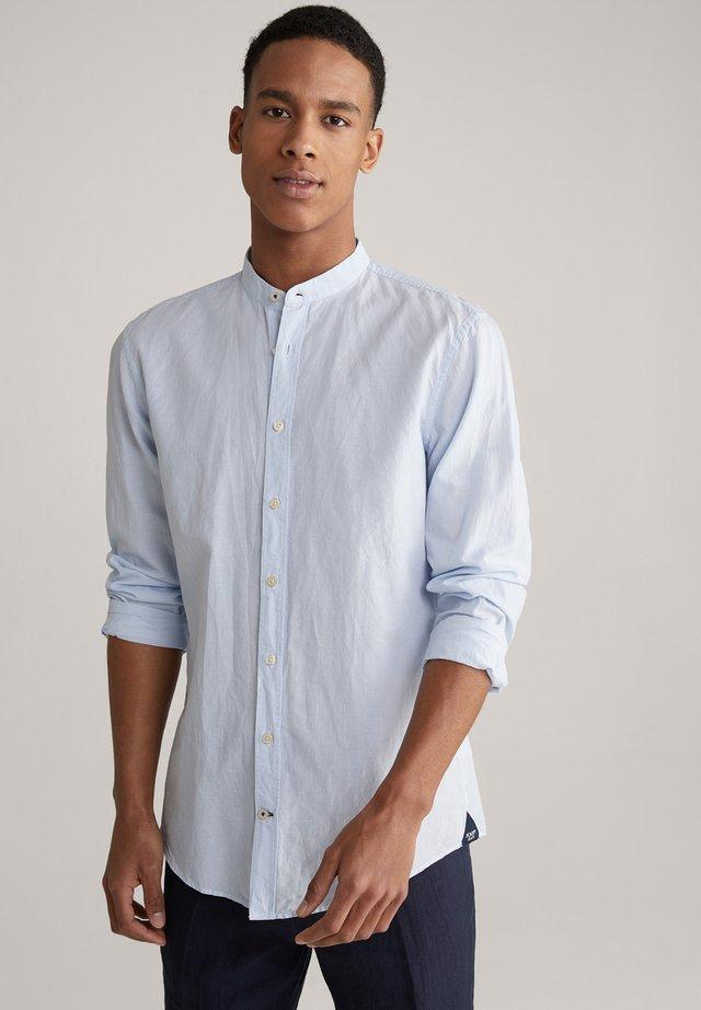 Shirt - hellblau/weiß gestreift