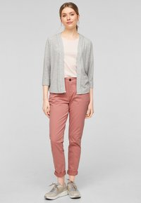 s.Oliver - Trousers - blush - 2
