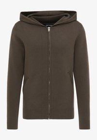 TUFFSKULL - Zip-up hoodie - militär oliv - 4