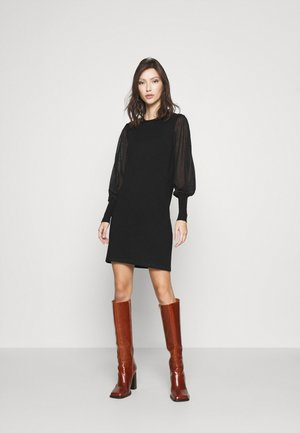 VMBELLISSIMO U-BACK DRESS - Jumper dress - black