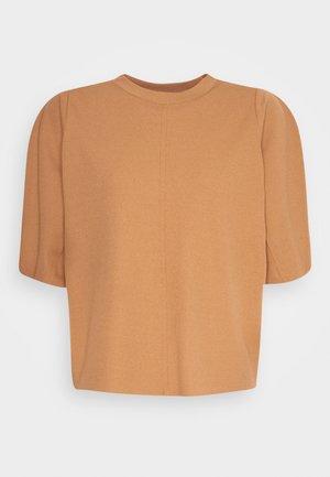 OTILLA  - T-shirt - bas - tobacco brown