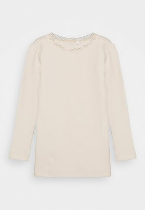 NMFREYA - Long sleeved top - whisper pink