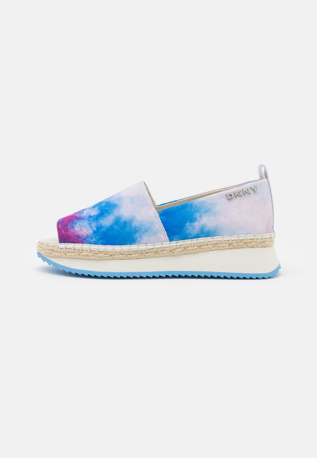 ORZA PLATFORM  - Espadrilles - jungle fuschia/blue