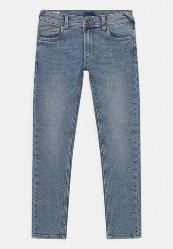 FINLY - Slim fit jeans - light-blue denim
