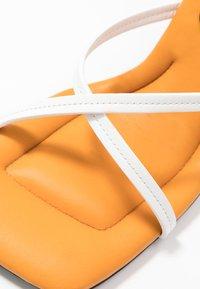 Proenza Schouler - High heeled sandals - nero/osso - 5