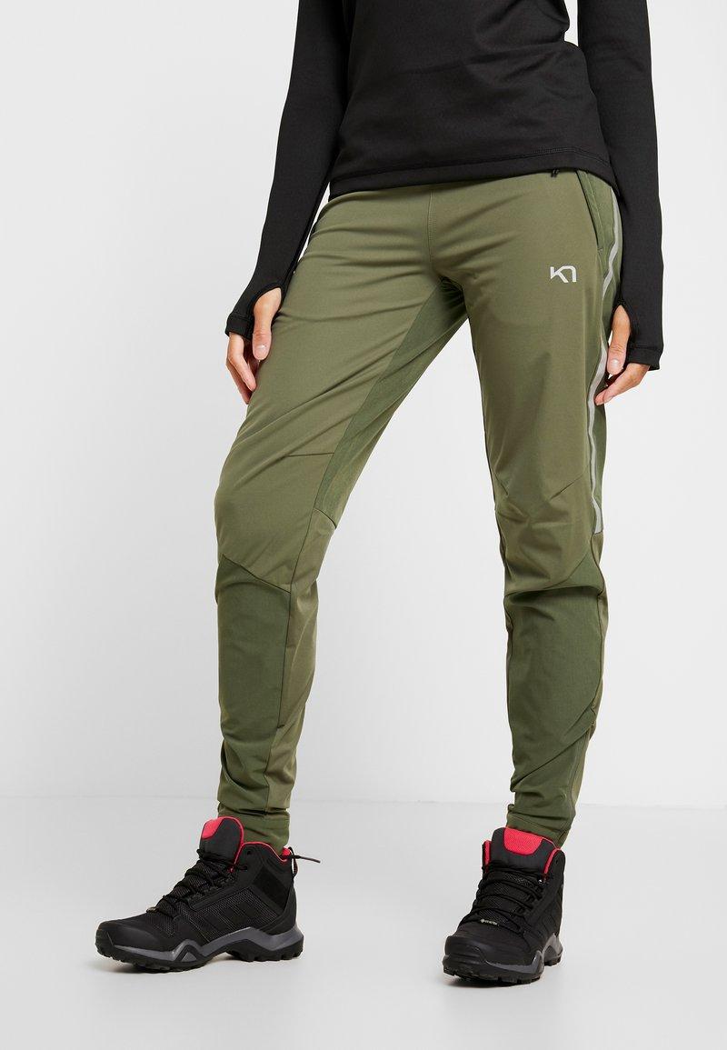 KariTraa - SIGNE PANTS - Outdoorové kalhoty - twig