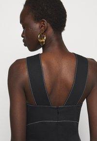 Proenza Schouler White Label - RUMPLED DRESS - Robe d'été - black - 3