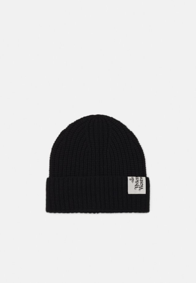 BEANIE HAT UNISEX - Berretto - black