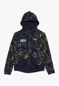 Puma - ALPHA JACKET  - Zip-up hoodie - peacoat - 0