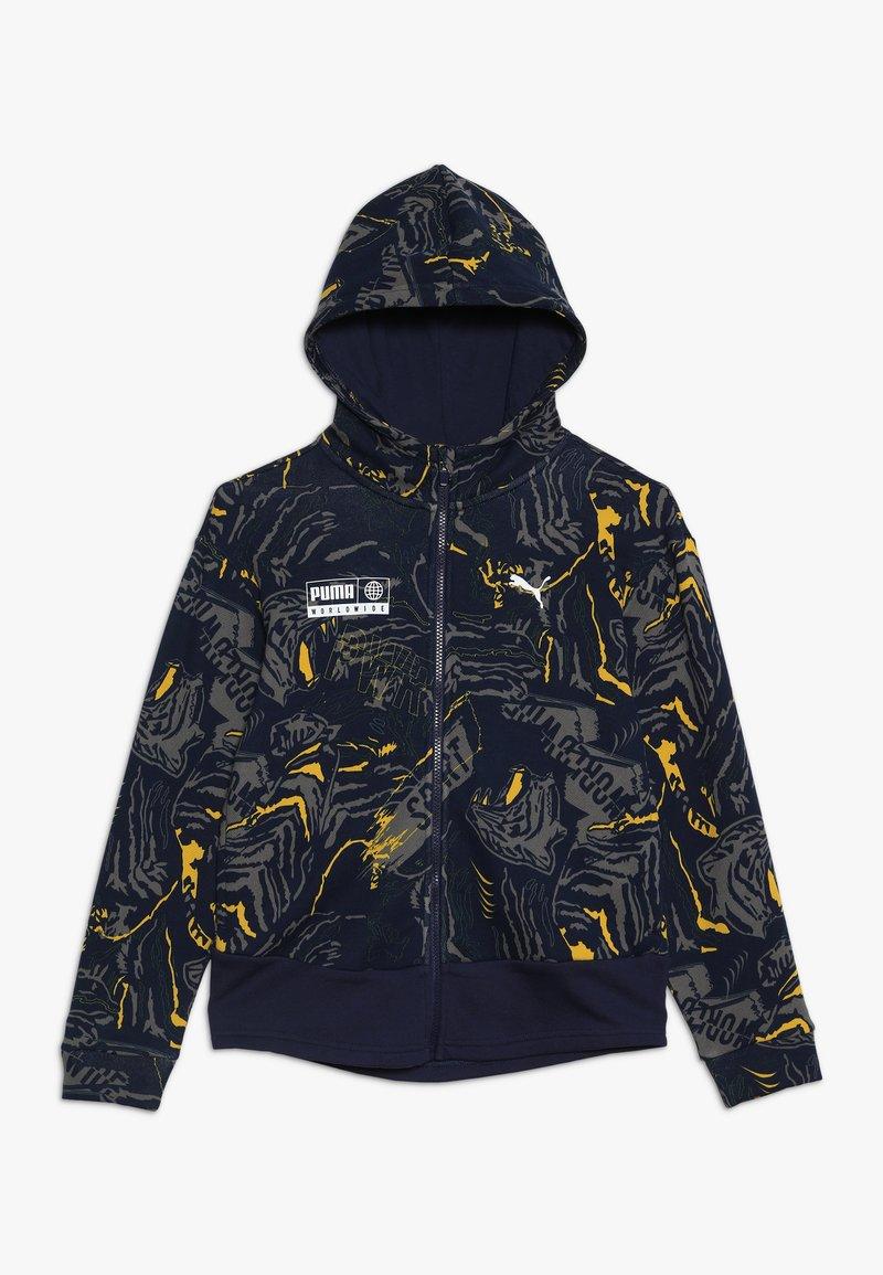 Puma - ALPHA JACKET  - Zip-up hoodie - peacoat
