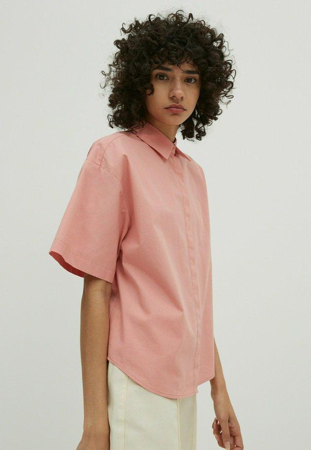 MALIA - Button-down blouse - pink