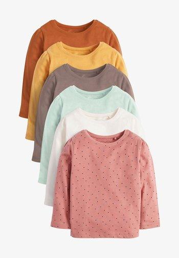 6 PACK - Long sleeved top - brown
