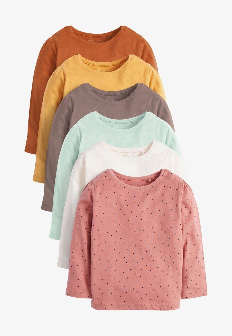Next - 6 PACK - Long sleeved top - brown