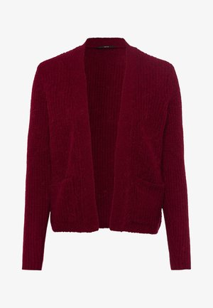 OFFENER STYLE - Cardigan - claret red