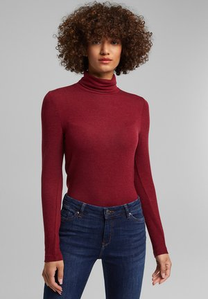 LONG SLEEVE - Jumper - bordeaux red