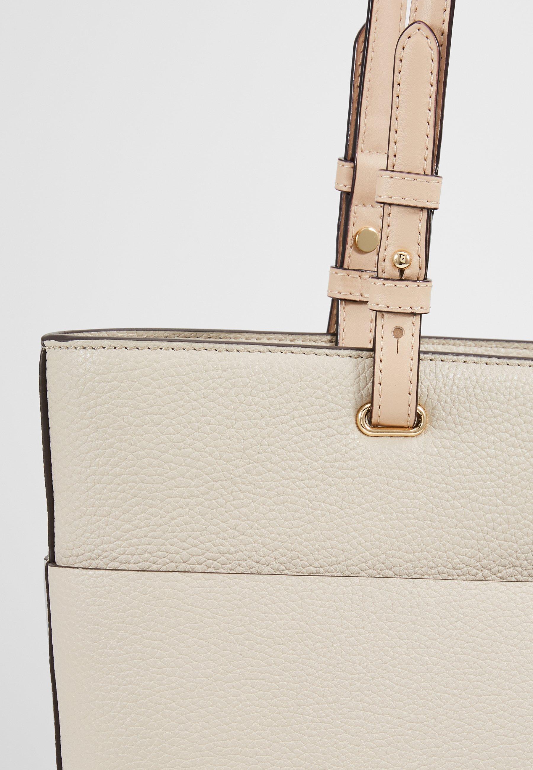 Michael Kors Bedford Pocket Tote - Håndtasker Light Sand