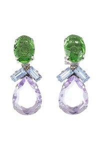 Radà - BEADED EARRINGS - Earrings - green - 3