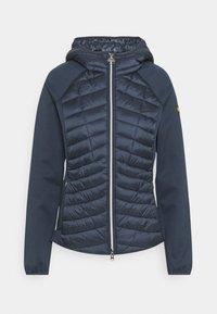 Barbour International - Zip-up sweatshirt - metallic blue - 0