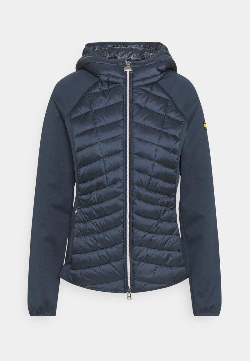 Barbour International - Zip-up sweatshirt - metallic blue