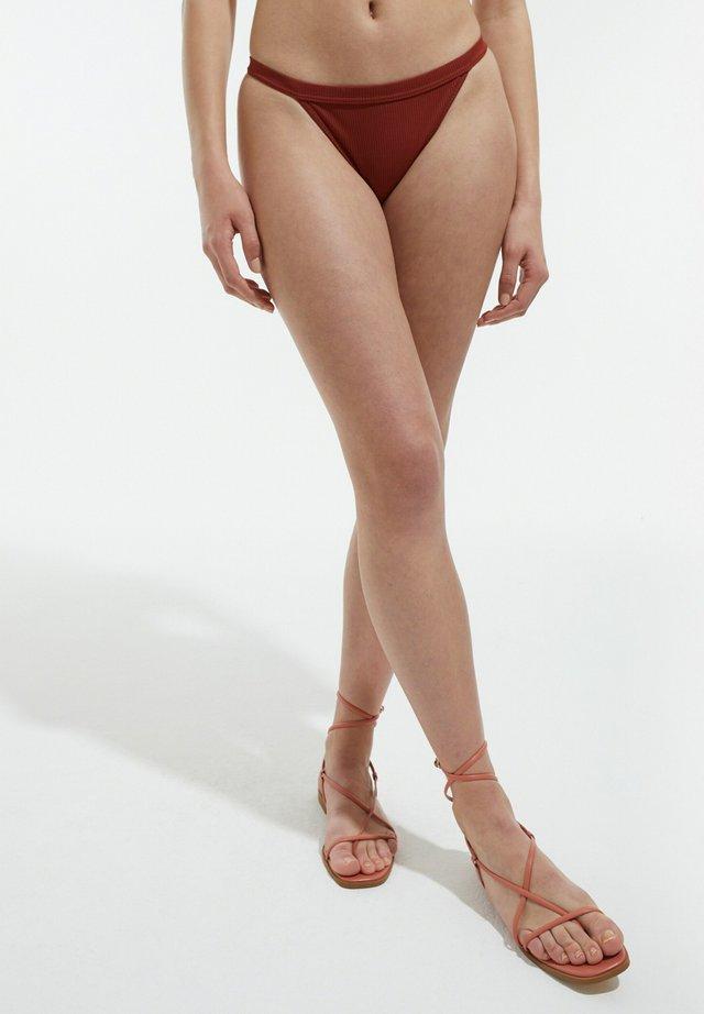 beysa - Bikini bottoms - braun