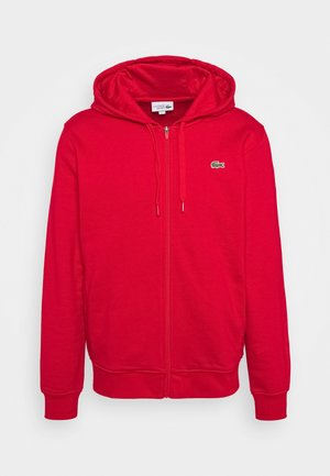CLASSIC HOODIE - Zip-up sweatshirt - red