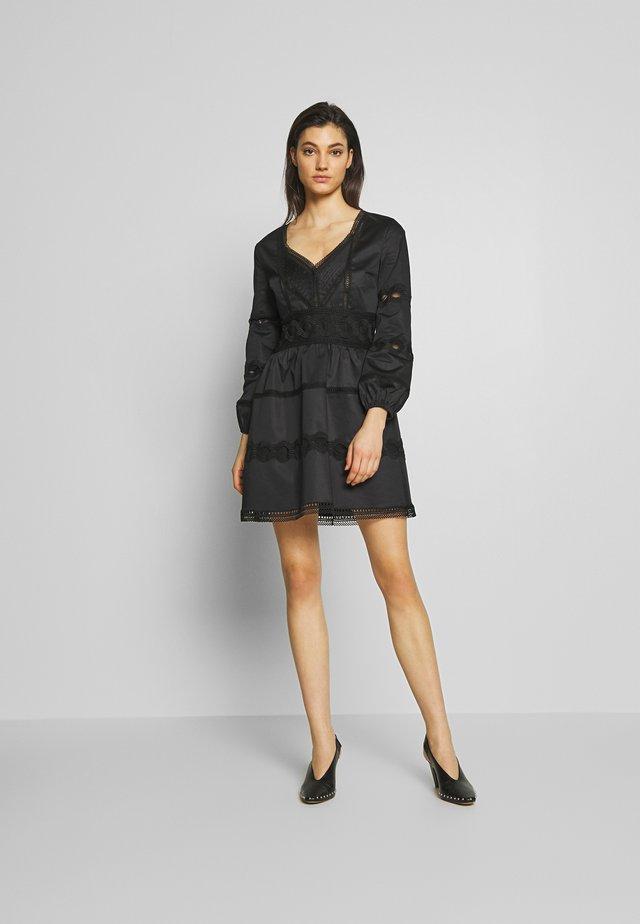ROBE - Robe d'été - black