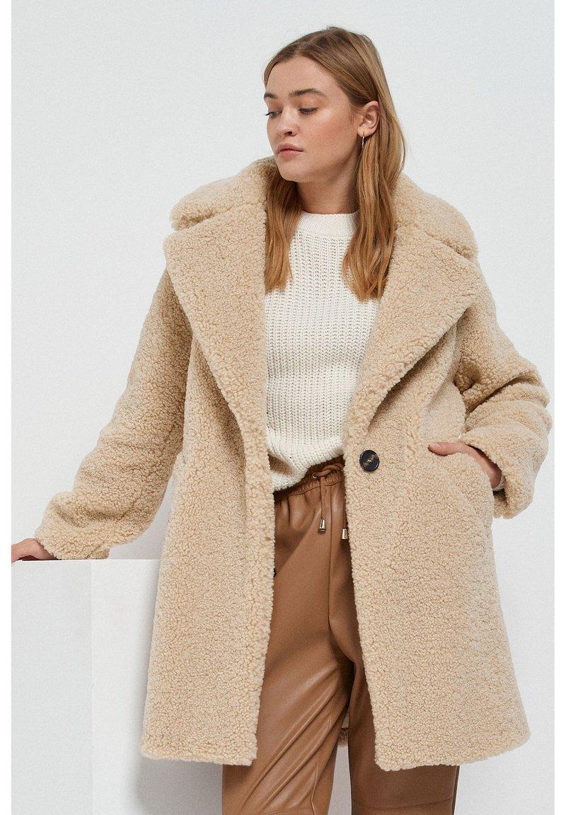 Next - Winter coat - stone
