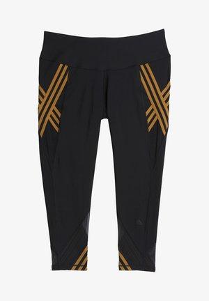 IVY PARK 3-STRIPES TIGHTS (PLUS SIZE) - Leggings - black