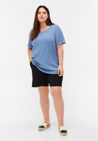 Zizzi - Basic T-shirt - blue - 1
