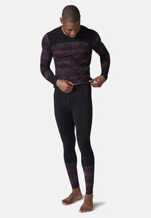 LIGHTWEIGHT INTRAKNIT 200 BASELAYER PATTERN - Leggings - black