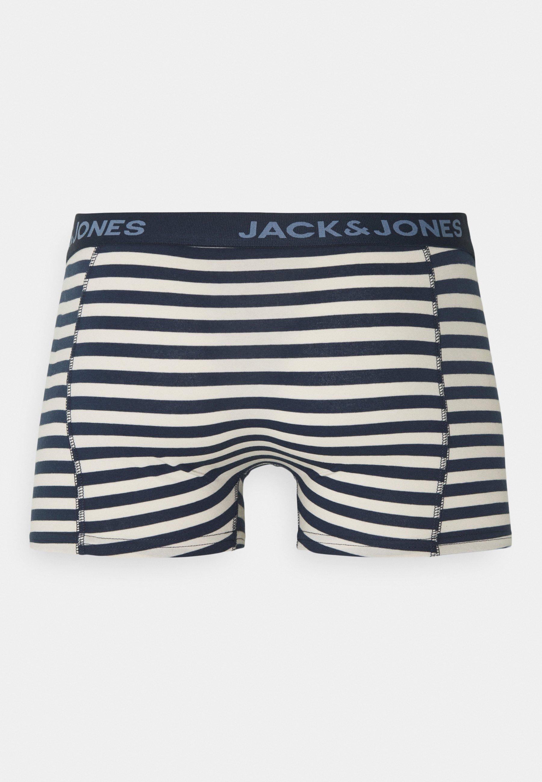 Uomo JACBOEY TRUNKS 3PACK - Culotte - infinity/dress blue