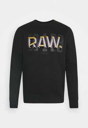 RAW - Sweatshirt - black