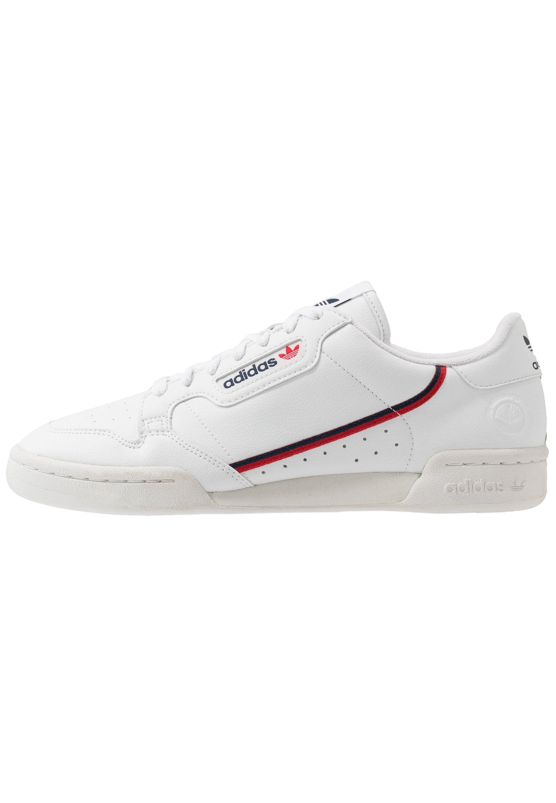 CONTINENTAL 80 VEGAN - Sneaker low - footwear white/collegiate navy/scarlet