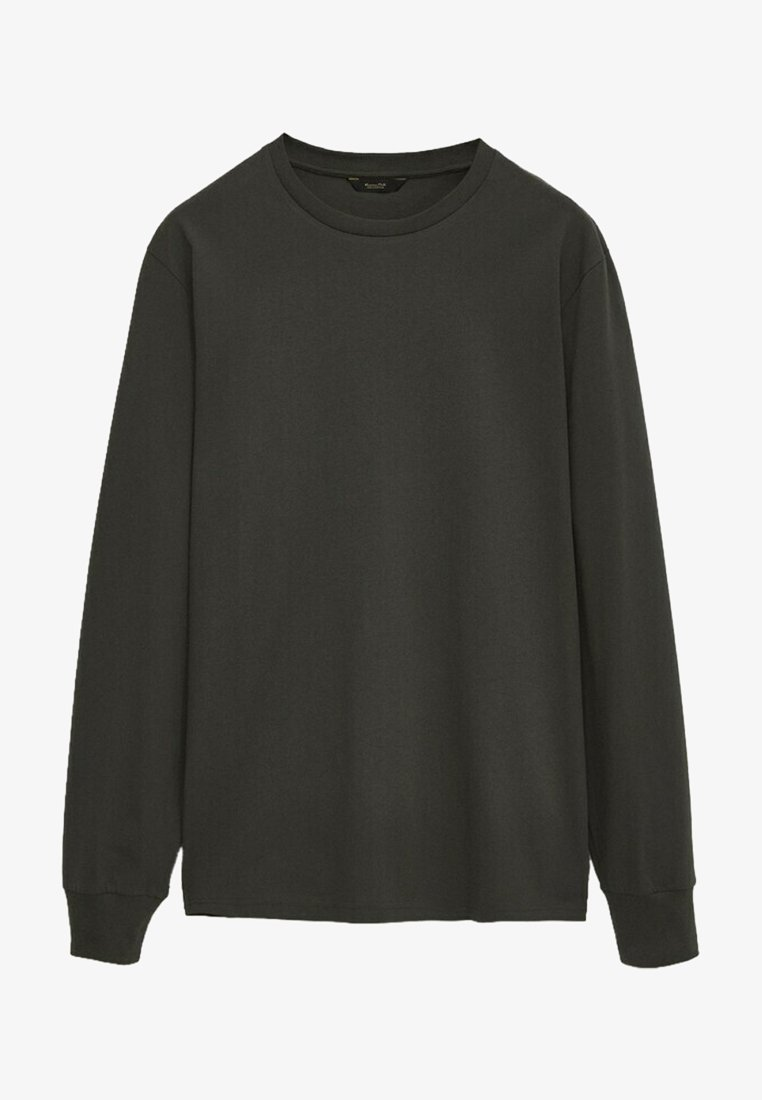 Massimo Dutti - Long sleeved top - green