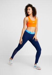 Nike Performance - Legging - black/blue void - 1