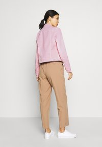Marc O'Polo - JACKET BUTTON CLOSURE GARMENT DYED - Denim jacket - bleached berry - 2