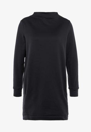 ANGIE TUNIC - Sweatshirt - true black