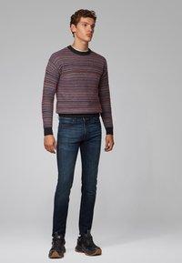BOSS - DELAWARE - Jeans slim fit - dark blue - 1