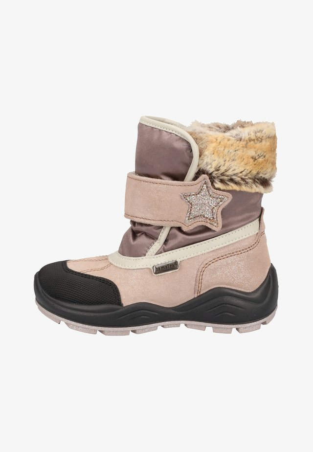 Winter boots - light pink