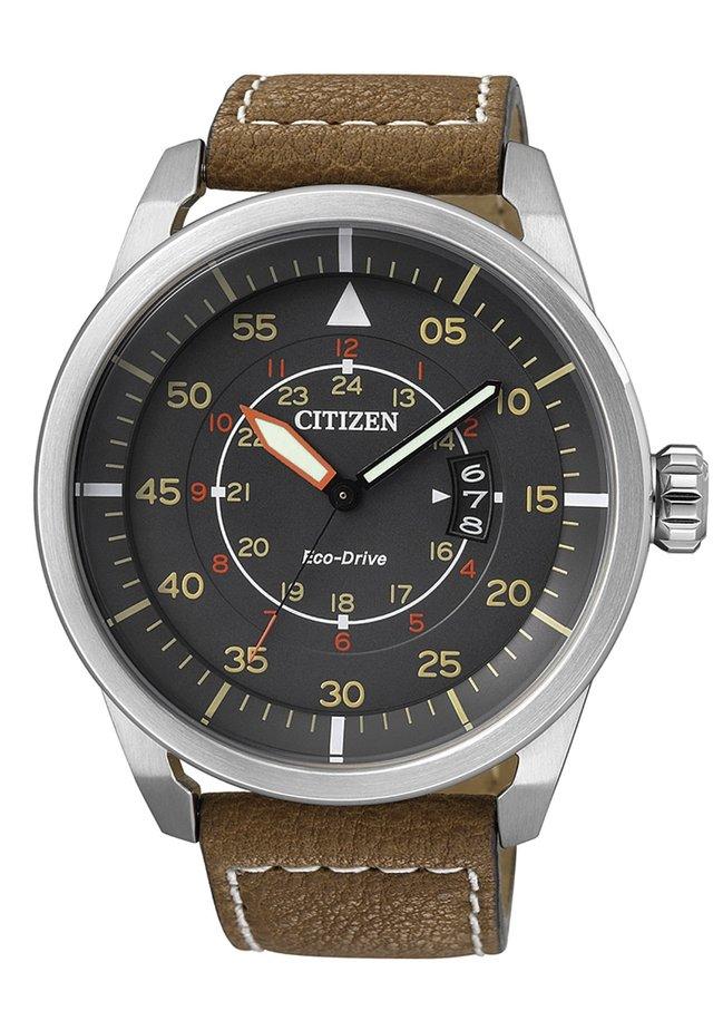 Horloge - schwarz/braun