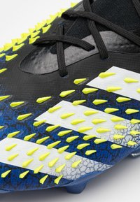 adidas Performance - PREDATOR FREAK .1 FG - Moulded stud football boots - core black/footwear white/solar yellow - 5