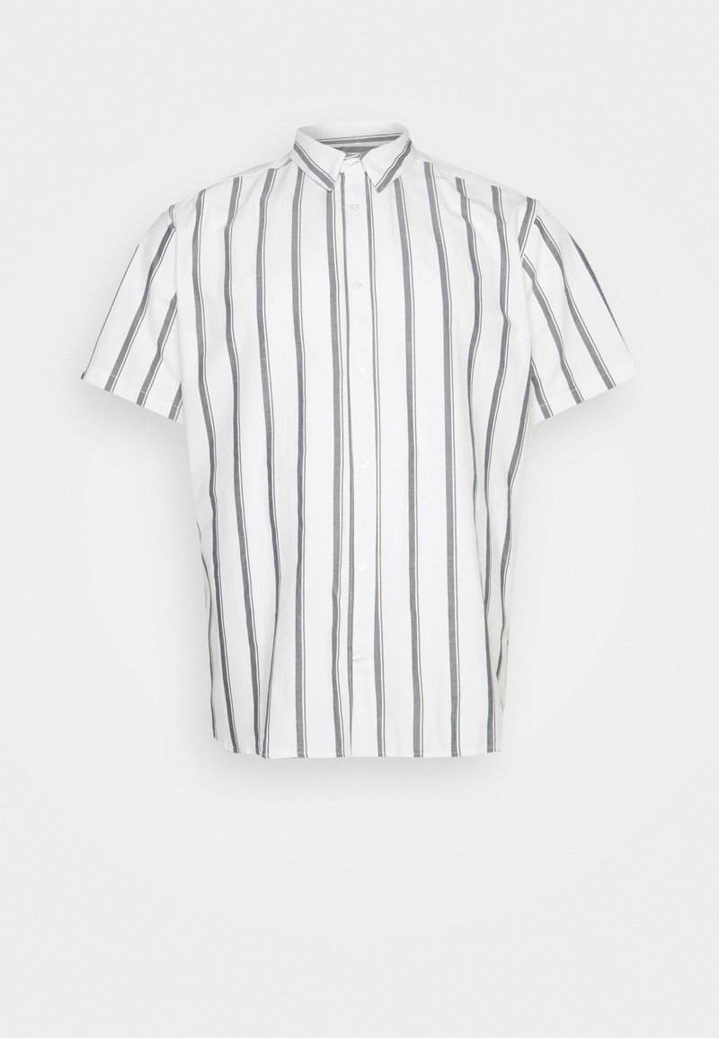 Only & Sons - ONSTRAVIS LIFE STRIPED THIN OXFORD - Shirt - cloud dancer