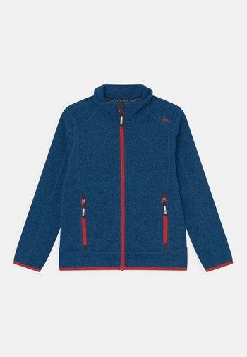 UNISEX - Fleece jacket - storm-nero